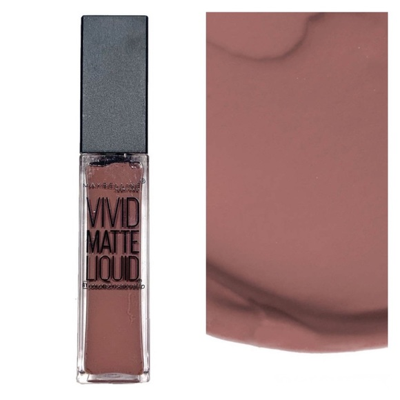 Maybelline Other - Maybelline Vivid Matte Liquid Lipstick Grey Envy 2